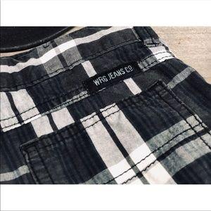 Wrangler Bottoms - Wrangler boys plaid shorts